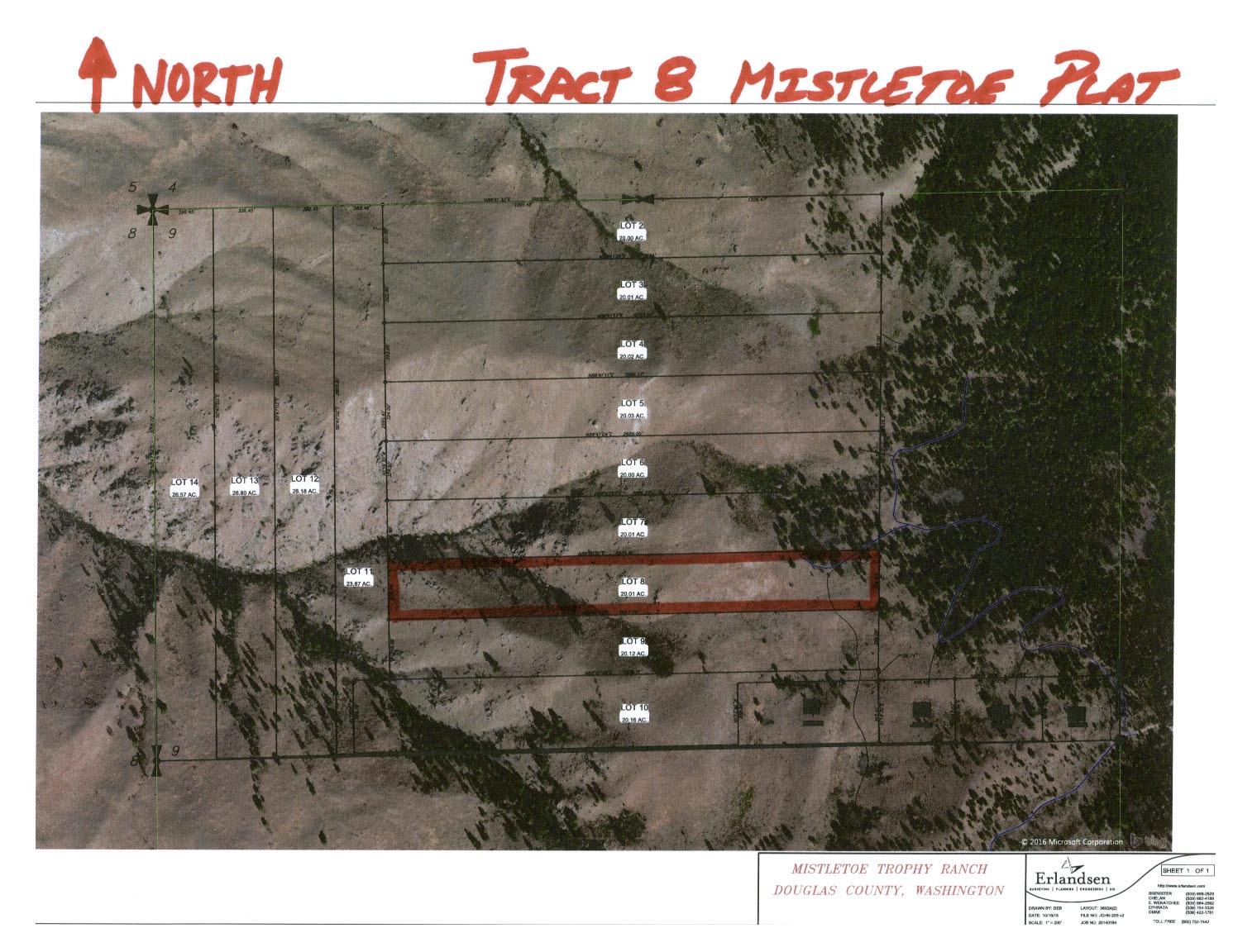 Parcel 8 Aerial Map Plat